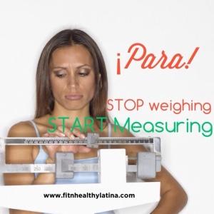 Stop Weighing